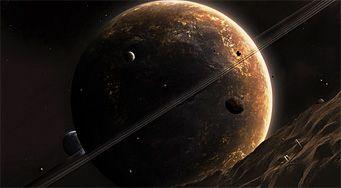 Восход Юпитера весной