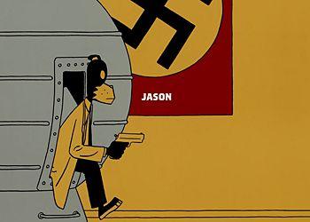 Мультфильм про Гитлера и машину времени