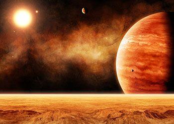 Восход Юпитера с Татум и Кунис