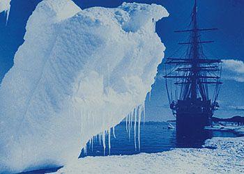 Антарктический Лед Эрнеста Шеклтона