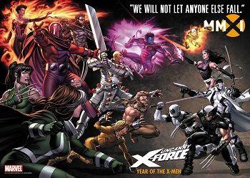 Кадр из комикса Сила Икс