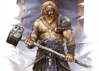 Суровый викинг