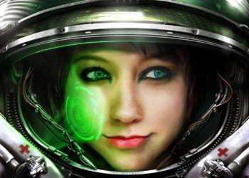 женщина-астронавт