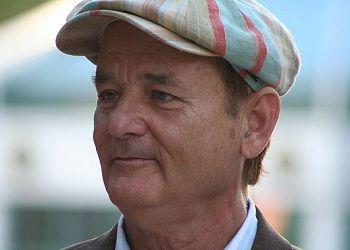 Билл Мюррей в кепке