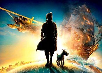 Постер фильма Приключения Тинтина