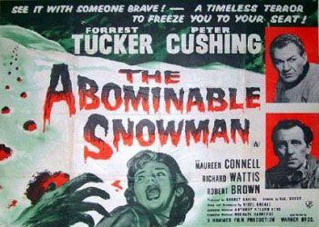 Постер фильма Снежный человек