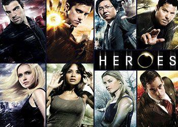 герои постер