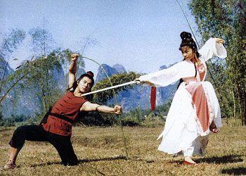 Кадр из фильма Храм Шаолинь