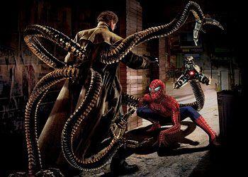 Кадр из комикса человек-паук