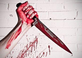 Рука с ножом