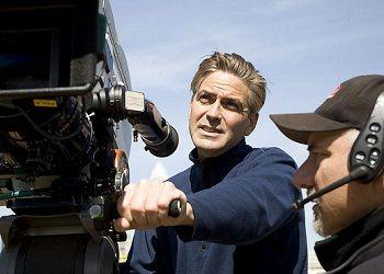 Джордж Клуни с камерой