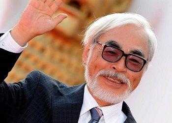 Хаяо Миядзаки в костюме