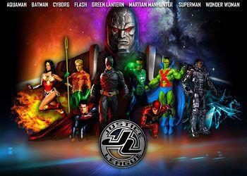 Постер Лиги справедливости