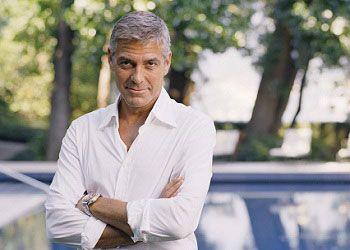 Джордж Клуни на природе