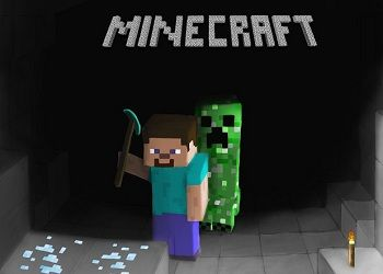 кадр из игры minecraft
