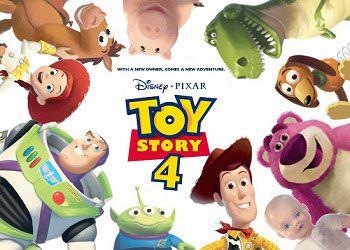 Постер истории игрушек 4