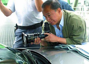 Джон Ву с камерой
