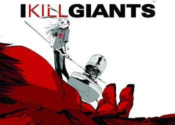 Обложка комикса Я убиваю великанов