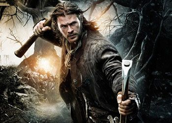 Постер Белоснежки и охотника