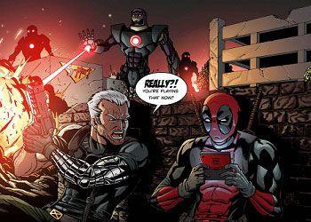 Кадр из комикса