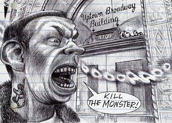 Кадр из комикса My Favorite Thing Is Monsters