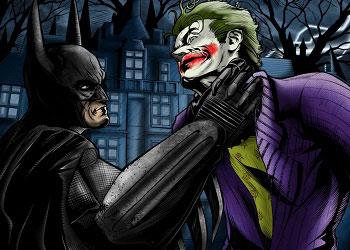 Бэтмен против Джокера комикс