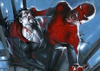 Человек-паук живой вампир