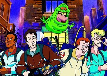 Охотники за привидениями мультфильм