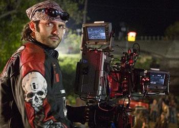 Роберт Родригес с камерой
