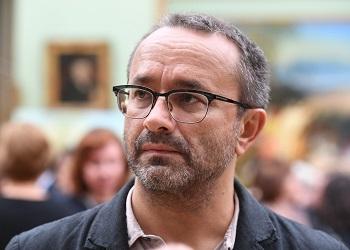 Андрей Звягинцев с щетиной