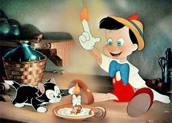 Кадр из Пиноккио