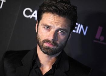 Себастиан Стэн с бородой