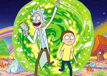 Рик и Морти кадр