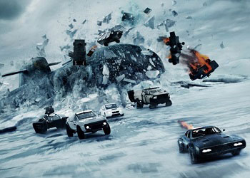 The Fate of the Furious постер