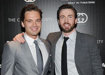 Sebastian Stan Chris Evans