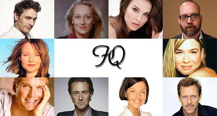 IQ актеров