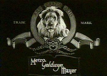 Логотип MGM в 1924 году