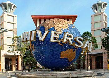 Universal Studios парк в Сингапуре