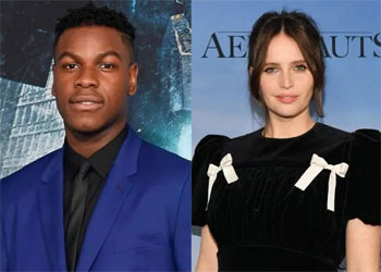 John Boyega & Felicity Jones